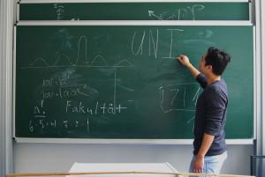 Minh Nhat entschied sich für die Uni wegen dem  Studiengang, nicht aufgrund des Ansehens oder des Standortes.
