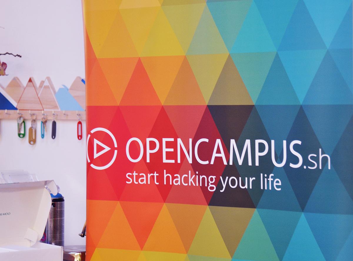 Opencampus ist bunt und für jeden offen, der Lust zum Gründen hat. (Foto: Lisa Strobel)