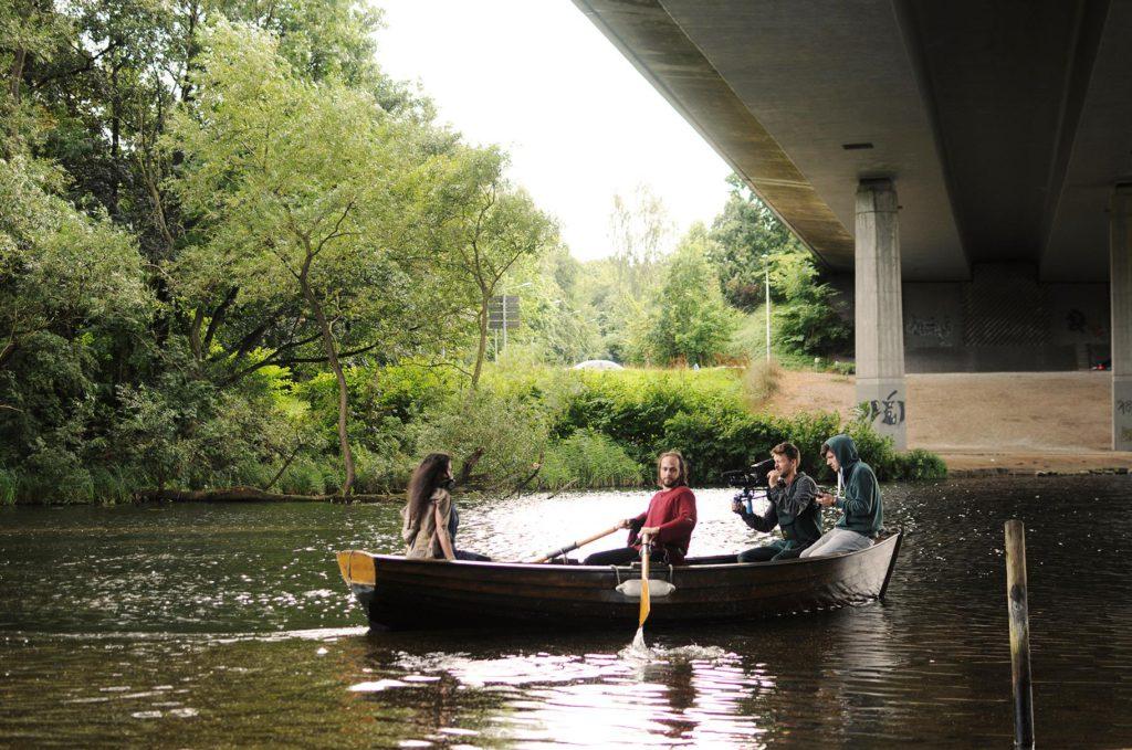 Zum Glück konnten die Filmemacher noch dieses Boot für den Dreh auftreiben. (Foto: Marlena Wels)