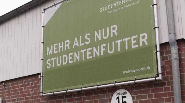 Im Gebäude 15 der Fachhochschule Kiel befindet sich die Schwentine-Mensa. (Foto: Susanne Link)