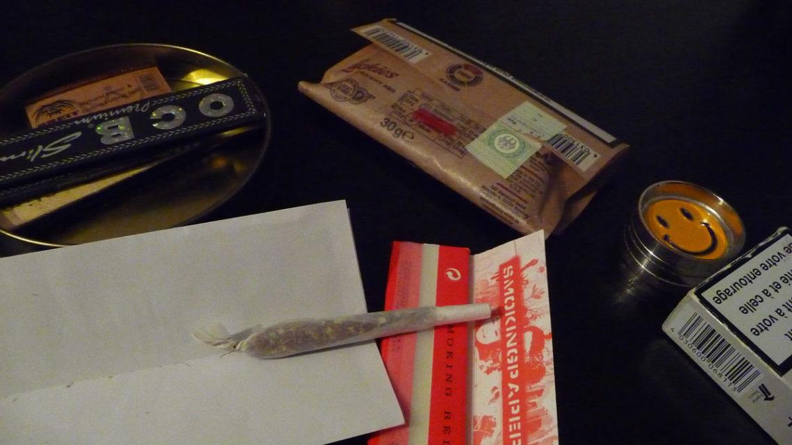Blättchen, Tabak, Gras - ein Joint ist schnell gedreht. (Foto: Kaja Spetzler)