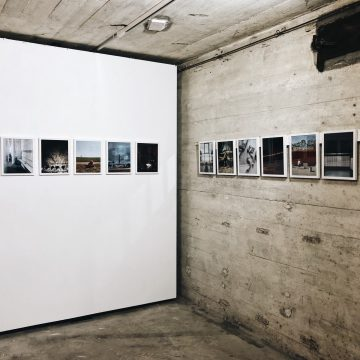 Exhibition opening in the Bunker-D
