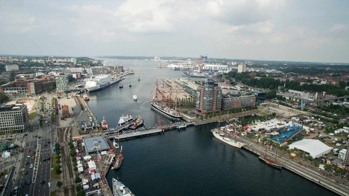 Aerial View of Kiel