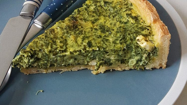 Spinach-Feta-Quiche
