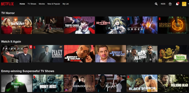 Top 20 TV shows on Netflix   FHews   [ fjus]