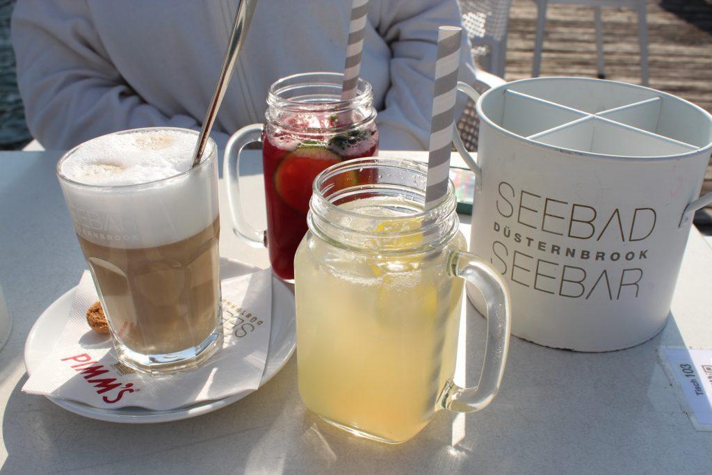Picture of drinks at Seebar Düsternbrook