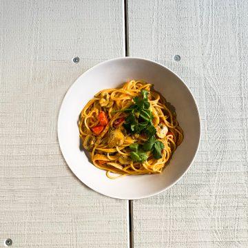 Picture of Thai One-Pot Pasta (Photo: Lena Groth-Jansen)