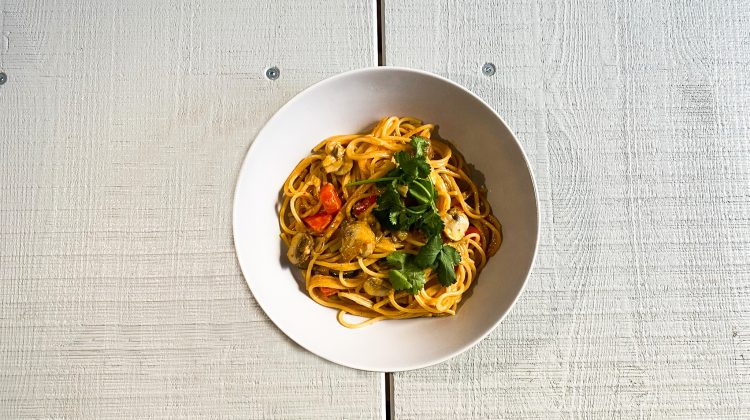Picture of Thai One-Pot Pasta (Photo: Lena Groth-Jansen)