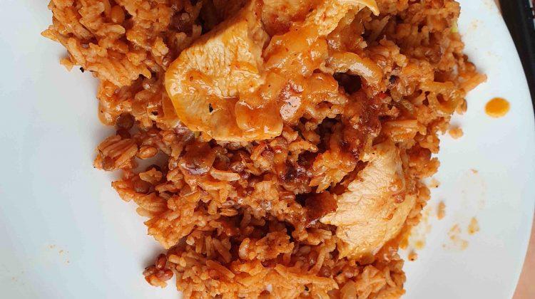 Tomato Lentils Rice