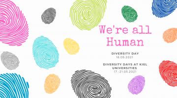 Illustration of Diversity, We are all human (Illustration: Lena Groth-Jansen)