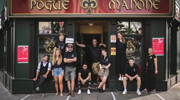 Picture of staff of Pogue Mahone (Photo: Pogue Mahone)